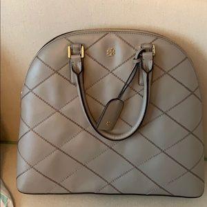 Grey Tory Burch Handbag